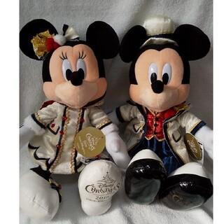 ミッキーマウス(ミッキーマウス)の❰4/30までの特価❱ミッキー&ミニー2019🎄イッツア・X'mas❄️ペア(キャラクターグッズ)