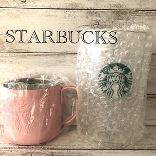 スターバックスコーヒー(Starbucks Coffee)の新品 STARBUCKS スターバックス グラス&マグset(マグカップ)