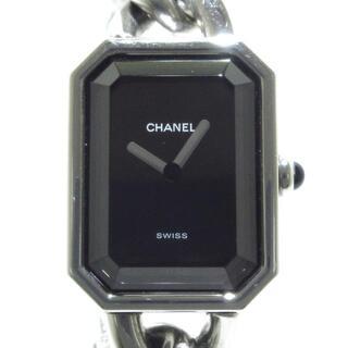 CHANEL - シャネル 腕時計 プルミエール H0452 黒