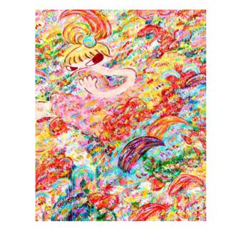 【額なし・サイン無し】ロッカクアヤコ 展覧会オフィシャルポスター (ポスター)