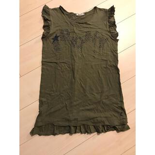 アイロニー(IRONY)のノースリーブフリルTシャツ  アイロニー(Tシャツ/カットソー(半袖/袖なし))
