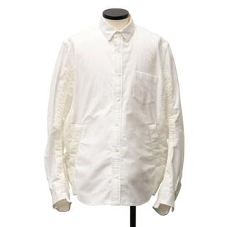 sacai - sacai20AW  Nylon Twill x Cotton Shirt  2