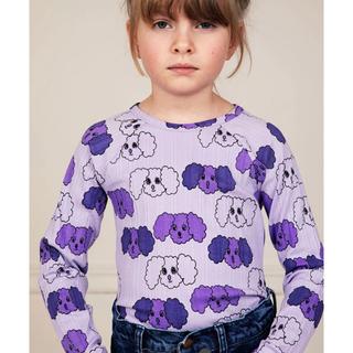 キャラメルベビー&チャイルド(Caramel baby&child )のMINIRODINI  長袖 パープル 80/86(Tシャツ)