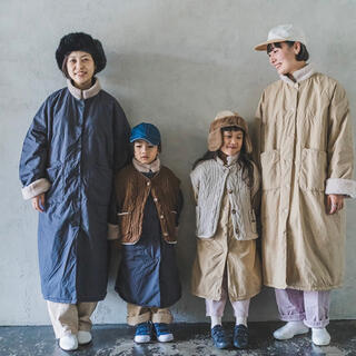 BEAMS BOY - オルセンオルセン 完売ルックコート 150サイズ ネイビー
