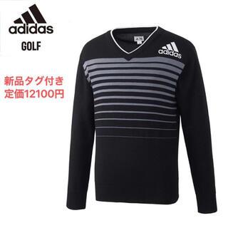 アディダス(adidas)の  Mサイズ/新品/adidas/アディダス/メンズゴルフセーター  (ウエア)