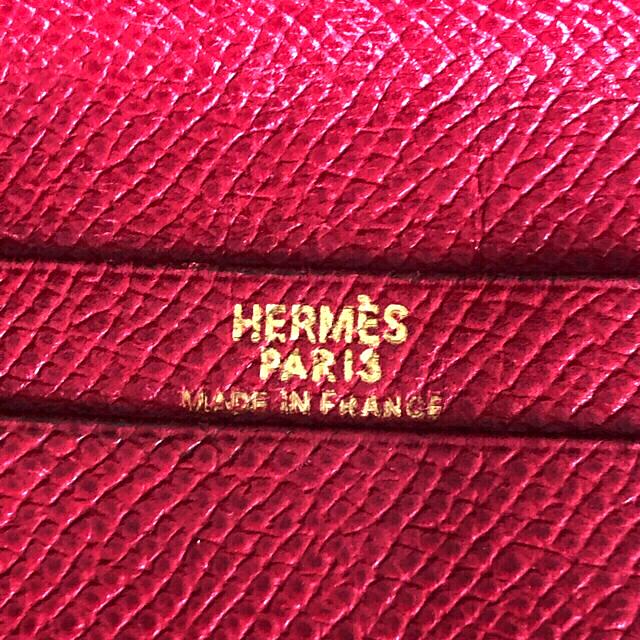 Hermes(エルメス)の奉仕セール価格💫美品💫HERMES2つ折り長財布 レディースのファッション小物(財布)の商品写真