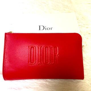Christian Dior - ディオール オリジナルポーチ レッド 新品未使用