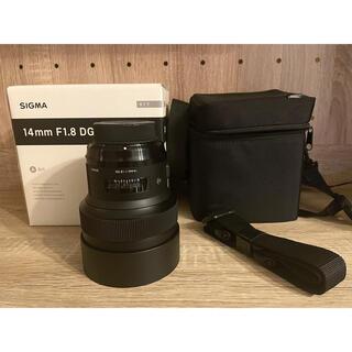 シグマ(SIGMA)の【ラクマ最安値します】SIGMA 14mm F1.8 DG HSM(Fマウント)(レンズ(単焦点))