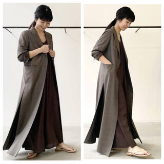 L'Appartement DEUXIEME CLASSE - 【新品】L'Appartement CHECK LONG SLIT コート