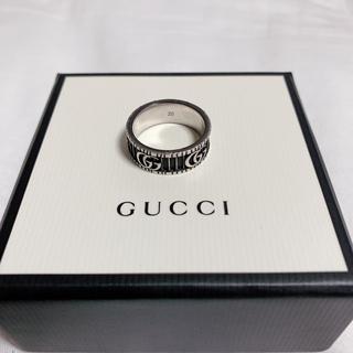 グッチ(Gucci)のGUCCI ダブルG リング 20号(リング(指輪))