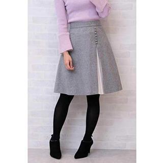 プロポーションボディドレッシング(PROPORTION BODY DRESSING)のサイドプリーツフレアースカート(ひざ丈スカート)