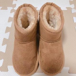 モコモコ子供ブーツ 19 (ブーツ)