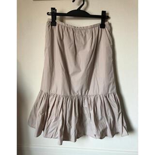 SCOT CLUB - GrandTable マーメイドスカート ベージュ 日本製 14,800