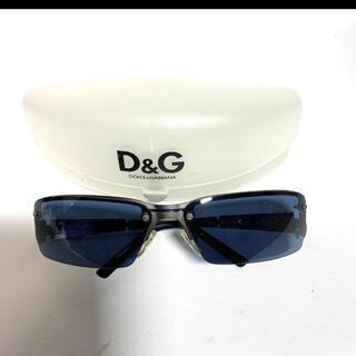 DOLCE&GABBANA - DOLCE&GABBANA ドルチェ&ガッバーナ サングラス メンズ ブルー