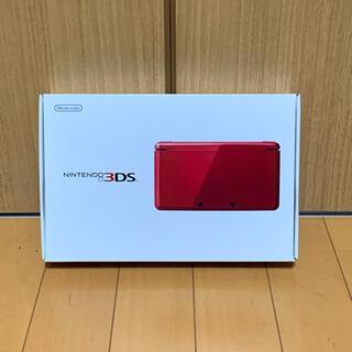 ニンテンドー3DS(ニンテンドー3DS)のNintendo NINTENDO DS ニンテンドー 3DS RED(携帯用ゲーム機本体)