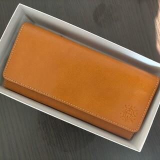 ダコタ(Dakota)のダコタ 長財布 オレンジ イタリア製牛革(長財布)