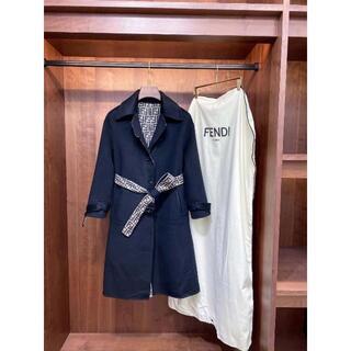 FENDI - ◇FENDI◆ FFロゴ リバーシブル ウールコート