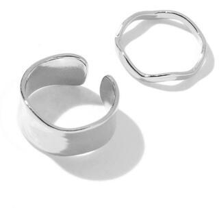 スピンズ(SPINNS)の【2個セット】メタルリング / 指輪 / セットリング(リング(指輪))