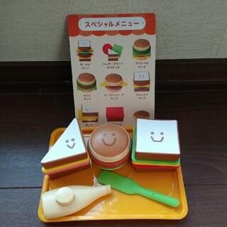 《送料込》いろかたちサンドイッチやさん(知育玩具)