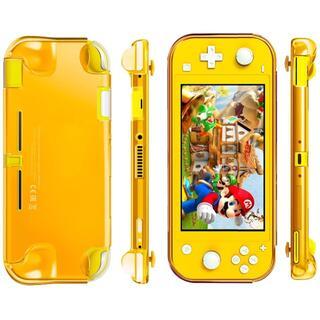 Nintendo Switch Lite ケース イエロー TPU素材(半透明)(家庭用ゲーム機本体)