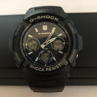 カシオ(CASIO)のCASIO G-SHOCK AWG-M100SB(腕時計(アナログ))