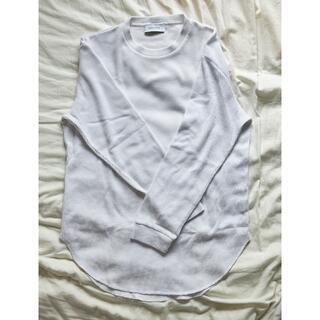 アダムエロぺ(Adam et Rope')のアダムエロペ サーマルレイヤードTシャツ ロング丈(Tシャツ/カットソー(七分/長袖))