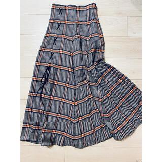 snidel - 石原さとみさん着用 snidel チェックロングスカート