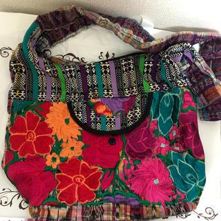 チャイハネ(チャイハネ)の海外製 刺繍バッグ(ショルダーバッグ)