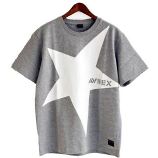 AVIREX - 新品★AVIREX ビッグスター Tシャツ グレー/M