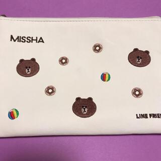 MISSHA - LINEFRIENDS&MISSHAコラボ♡メイクブラシ5本セット&メイクポーチ