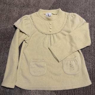 クミキョク(kumikyoku(組曲))の組曲 子供 服 130 黄色(ワンピース)