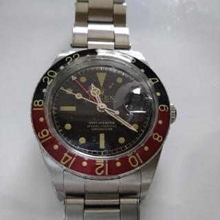 ビンテージ時計GMT黒赤バットマン