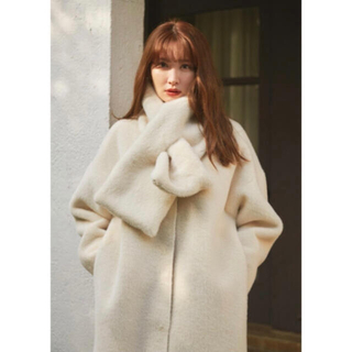 Her lip to Faux Fur Reversible Coat