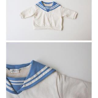 monmimi  セーラースウェット(Tシャツ/カットソー)