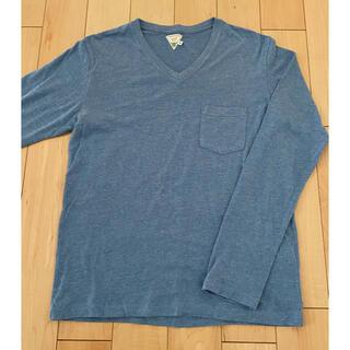 フリークスストア(FREAK'S STORE)のFreak's store フリークスストアー 長袖Tシャツ vネック M(Tシャツ/カットソー(七分/長袖))