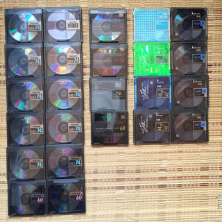 マクセル(maxell)のMDディスク(maxell、SONY、AXIA)24枚(その他)