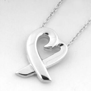ティファニー(Tiffany & Co.)のティファニー ラビングハート ネックレス シルバー (N03481)(ネックレス)