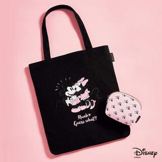 Disney - SWEET スウィート 3月号付録 ミッキー&ミニートートとポーチの2点セット