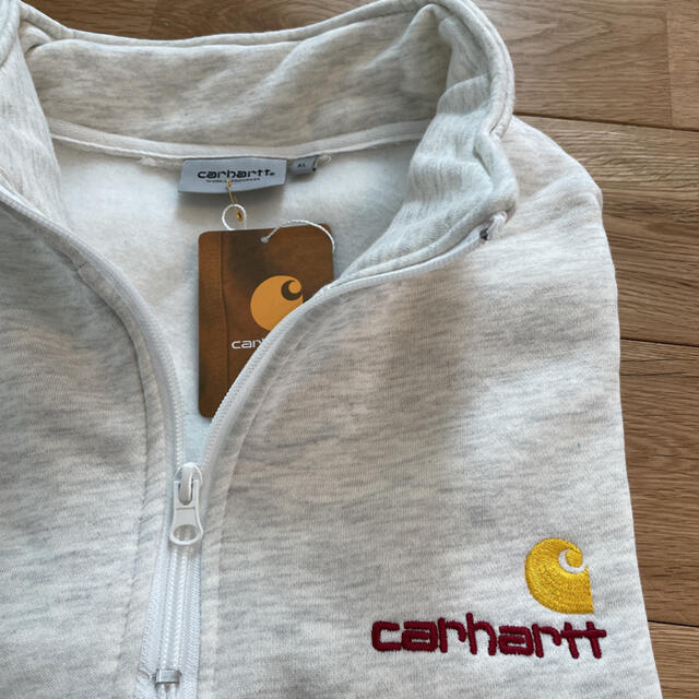 carhartt(カーハート)の【新品/未使用】carhartt ハーフジップ ブルオーバー xlサイズ メンズのトップス(スウェット)の商品写真