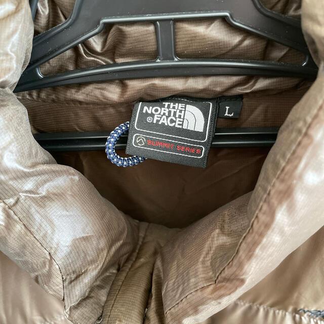 THE NORTH FACE(ザノースフェイス)のthe north face  ダウンジャケット L ダークブラウン メンズのジャケット/アウター(ダウンジャケット)の商品写真