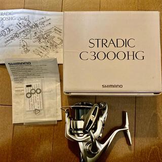 シマノ(SHIMANO)の19ストラディック C3000HG(リール)