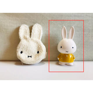 スタディオクリップ(STUDIO CLIP)のミッフィー うさこちゃん ① 貯金箱 陶器(キャラクターグッズ)