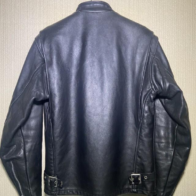 schott(ショット)の【最終値下げ】schoot シングルライダース size36 インナー付き メンズのジャケット/アウター(ライダースジャケット)の商品写真