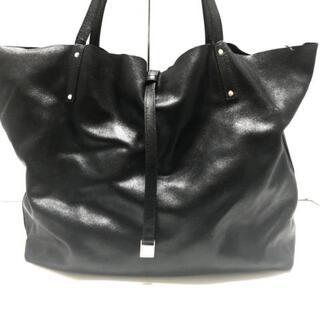 ティファニー(Tiffany & Co.)のティファニー トートバッグ - 黒 レザー(トートバッグ)