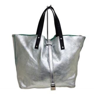 ティファニー(Tiffany & Co.)のティファニー トートバッグ - シルバー×黒(トートバッグ)