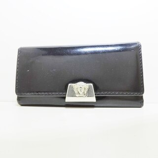 ジャンニヴェルサーチ(Gianni Versace)のジャンニヴェルサーチ キーケース - 黒(キーケース)