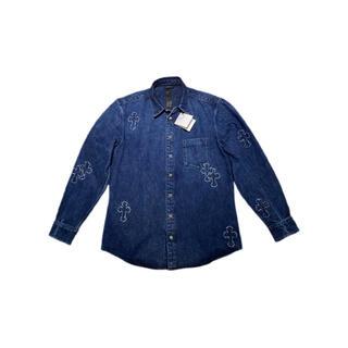 クロムハーツ(Chrome Hearts)のクロムハーツ デニムクロスパッチデニムシャツ(シャツ)