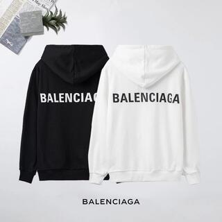Balenciaga - Balenciaga# 0306 パーカー ロゴ 男女兼用 2点12000円