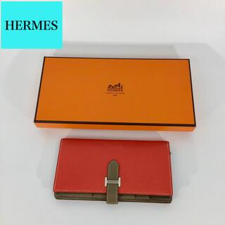 Hermes - エルメス ベアン 長財布