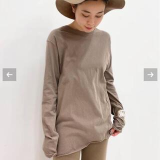 L'Appartement DEUXIEME CLASSE - 新品未使用 Distortion Tシャツ ベージュ